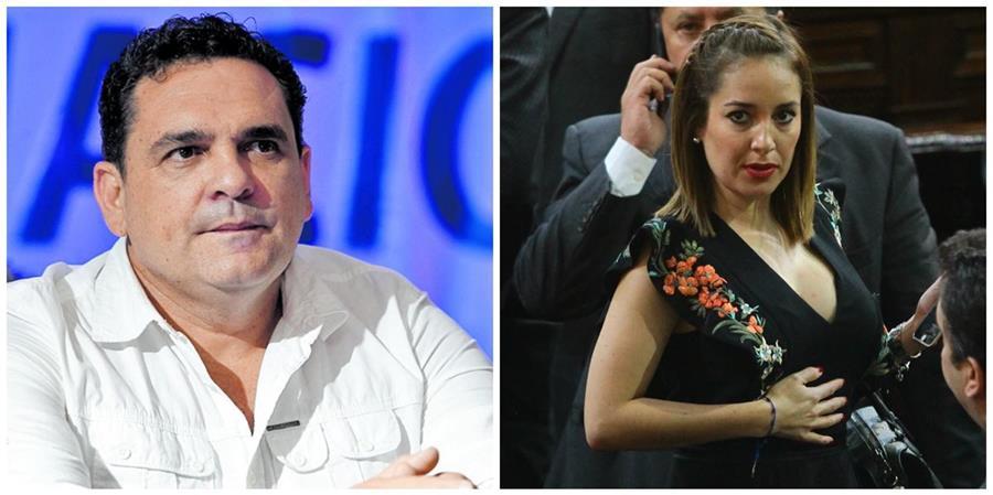 Los diputados Boris España y Alejandra Carrillo. (Fotos: Hemeroteca PL/Álvaro Interiano).