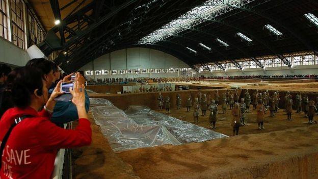 Más de un millón y medio de personas visitan todos los años el sitio arqueológico de Xi´an. GETTY IMAGES