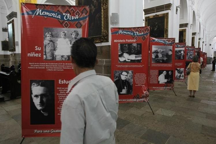 Autoridades invitan a participar en actividades para recordar la vida y labor de monseñor Juan Gerardi, a 18 años de su asesinato (Foto Prensa Libre: Hemeroteca PL).