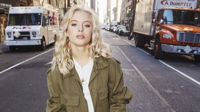 "Los éxitos de Zara Larsson incluyen ""Lush Life"", ""Never Forget You"" y ""Ain't My Fault"" (EPIC)"