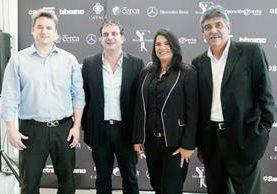 Conferencia de Prensa torneo de Golf Mercedes-Benz (Foto Prensa Libre: Marcela Morales).