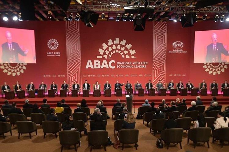 La reunión que termina este domingo en Lima, Perú, incluirá una declaración en favor del libre comercio.