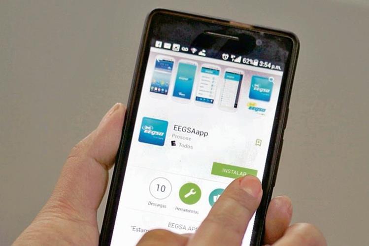 La aplicación, se puede encontrar en los teléfonos iPhone y con sistema Android.