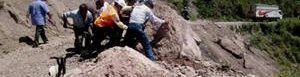 Deslizamiento de tierras deja varios muertos.