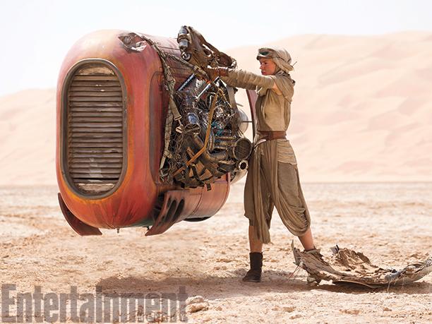 Una de las producciones más esperadas del cine, Star Wars, muestra más imágenes. (Foto Prensa Libre: Entertainment Weekly)
