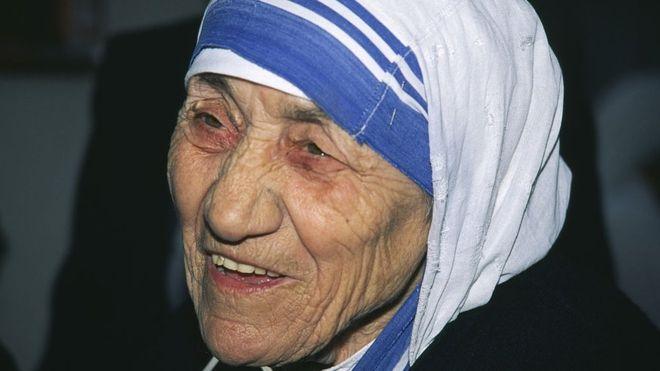 La Madre Teresa murió en Calcula hace 19 años. GETTY IMAGES