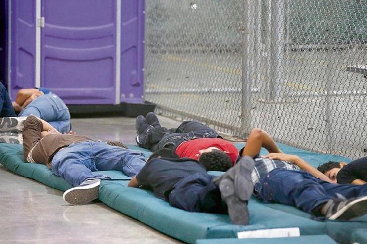 Nueve mil 383 menores no acompañados reportan este año. (Foto Prensa Libre: Hemeroteca PL)