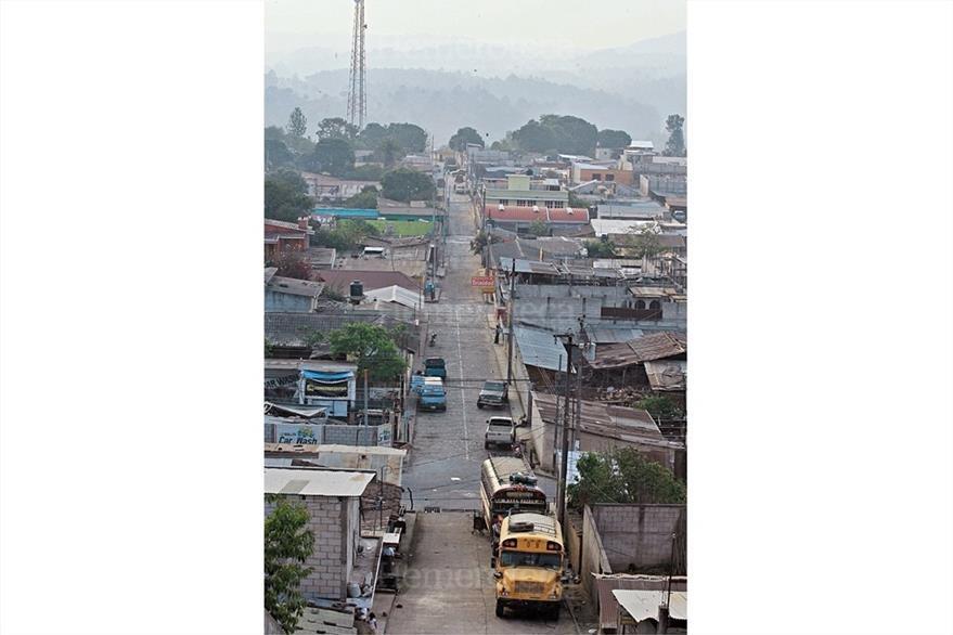 Vista reciente de San Martín Jilotepeque, Chimaltenango, que resurgió luego del terremoto de 1976. (Foto: Hemeroteca PL)