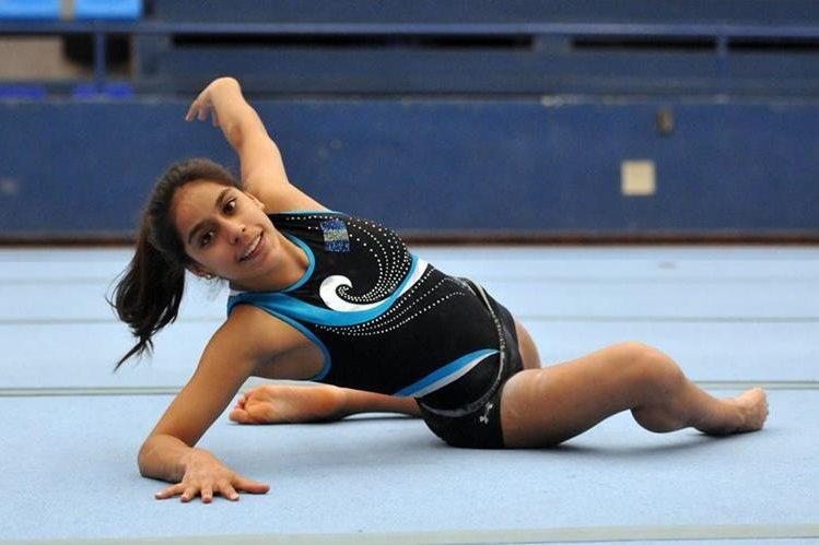 Ana Sofía Gómez representará a Guatemala en los Juegos Olímpicos de Río 2016. (Foto Prensa Libre: Jeniffer Gómez)