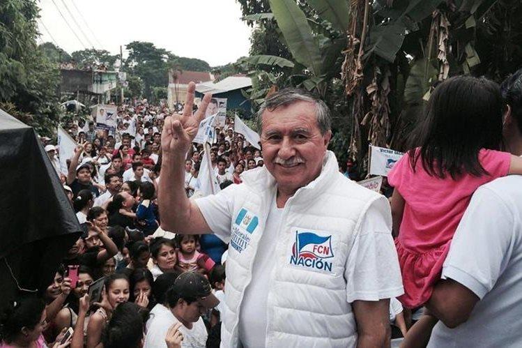 El diputado Edgar Ovalle está denunciado por violaciones a los derechos humanos durante el conflicto armado interno. (Foto Prensa Libre: Hemeroteca PL)