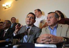 El diputado Edgar Ovalle, fundador del partido, enfrenta un proceso de antejuicio. (Foto Prensa Libre: Hemeroteca PL)
