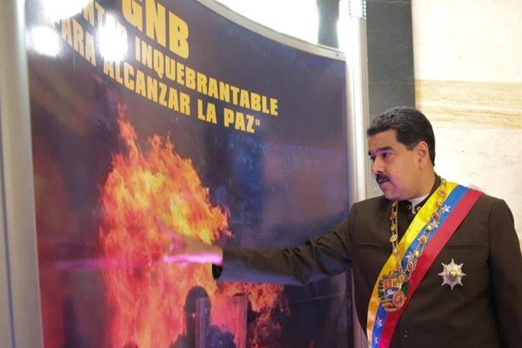 ANC se solidariza con el presidente Maduro ante sanciones de EUA