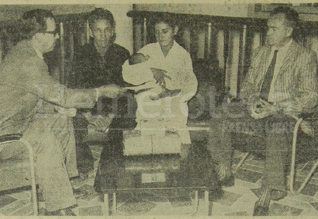 En 1961 el presidente Miguel Ydígoras realizó donativos para el Maratón de la Cigüeña. (Foto: Hemeroteca PL)