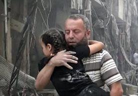 Fotos impactantes y desgarradoras del conflicto sirio.