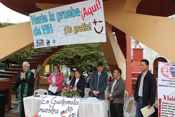 """<p>Entidades de Salud efectúan pruebas gratuitas de detección del VIH. (Eduardo Sam)<br _mce_bogus=""""1""""></p>"""