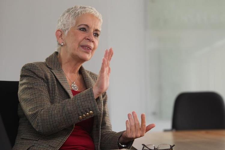 Adela Camacho de Torrebiarte, exmiembro de Fedefut. (Foto Prensa Libre: Hemeroteca)