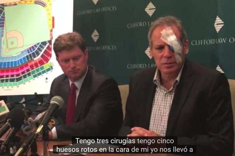 John Loos durante la conferencia de prensa donde habló de su lesión. (Foto Prensa Libre: Youtube)