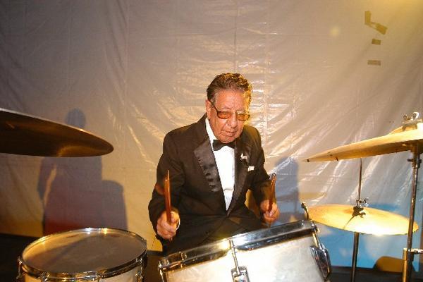 Luis Felipe Pineda Santizo, director administrativo de la Marimba Orquesta Gallito durante más de 40 años.