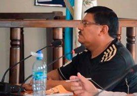 Humberto Gómez Pérez fue sentenciado a 133 años de prisión por el secuestro de cinco agentes de la PNC. (Foto Prensa Libre: Whitmer Barrera)