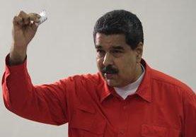 El Carnet de la Patria tiene un código QR. (Foto Prensa Libre: EFE)