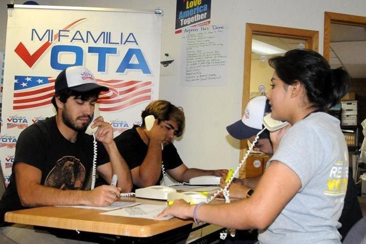 El voto de los latinos será crucial en la elección presidencial estadounidense. (Foto Prensa Libre: Hemeroteca PL)