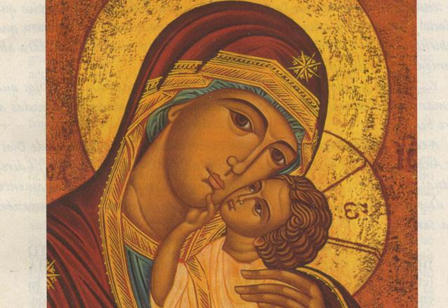 El ícono de la Virgen del Camino es de tipo Eleusa. (Foto: Internet)