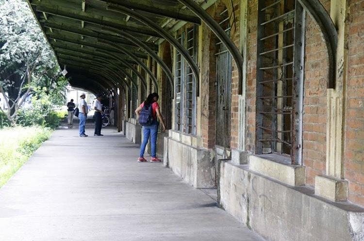 En la antigua estación del tren, en Retalhuleu, funcionará un museo ventas de artesanías. (Foto Prensa Libre: Rolando Miranda)