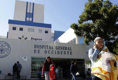 Hospital de Guadalajara, México, en donde una niña de 9 años dio a luz a una bebé de seis libras.