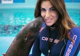 Modelo Gessica Notario fue finalista de Miss Italia en el 2007. (Foto Prensa Libre: Twitter)