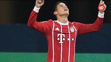 James se estrena con el Bayern
