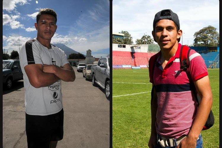 Alejandro Galindo y John Méndez darán todo en las final del Apertura 2016. (Foto Prensa Libre. C. Vicente y N. Mendoza)