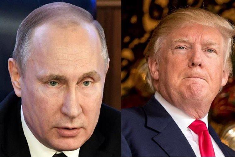 """Vladimir Putin dijo que no había """"nada inusual"""" sobre el deseo Donald Trump de aumentar la capacidad nuclear.(AFP)."""