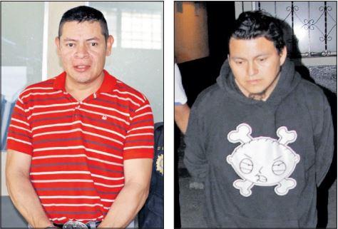 Carlos Antonio Quinteros González y Maximiliano Tocay Culajay fueron detenidos en mayo, acusados de abusar de niñas. (Fotos Prensa Libre: HemerotecaPL)