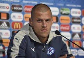 Skrtel defenderá con todo a su Selección frente a Inglaterra. (Foto Prensa Libre: AFP)