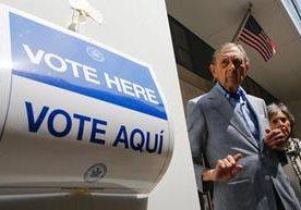 Imágenes de la jornada electoral celebrada en Nueva York.