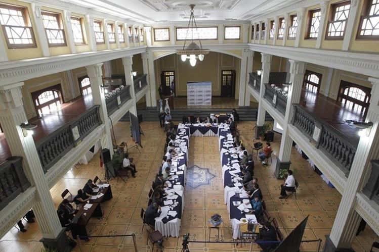 CSU conocerá este lunes señalamientos en contra de nueve aspirantes a magistrado a la CC. (Foto Prensa Libre: Hemeroteca PL)