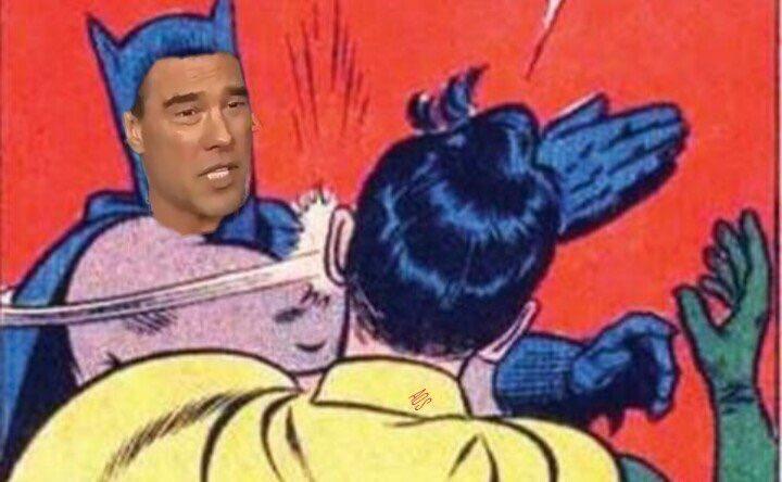 El meme de Batman ya tiene un origen, bromean en las redes sociales (Foto Prensa Libre: Twitter).