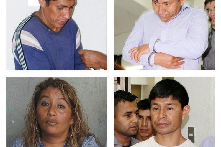 Cuatro maestros son ligados a proceso, señalados de haber participado en la violación de una menor de 15 años. (Foto Prensa Libre: Óscar Figueroa)
