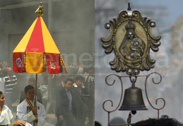 El canópeo y el tintinábulo son símbolos que identifican al Templo de Santo Domingo como una Basílica. (Foto: Hemeroteca PL)