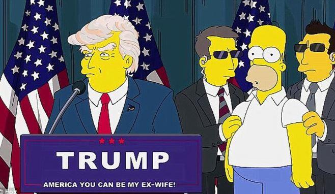 Según los Simpson, Donald Trump conquista la presidencia de Estados Unidos. (Foto: YouTube).