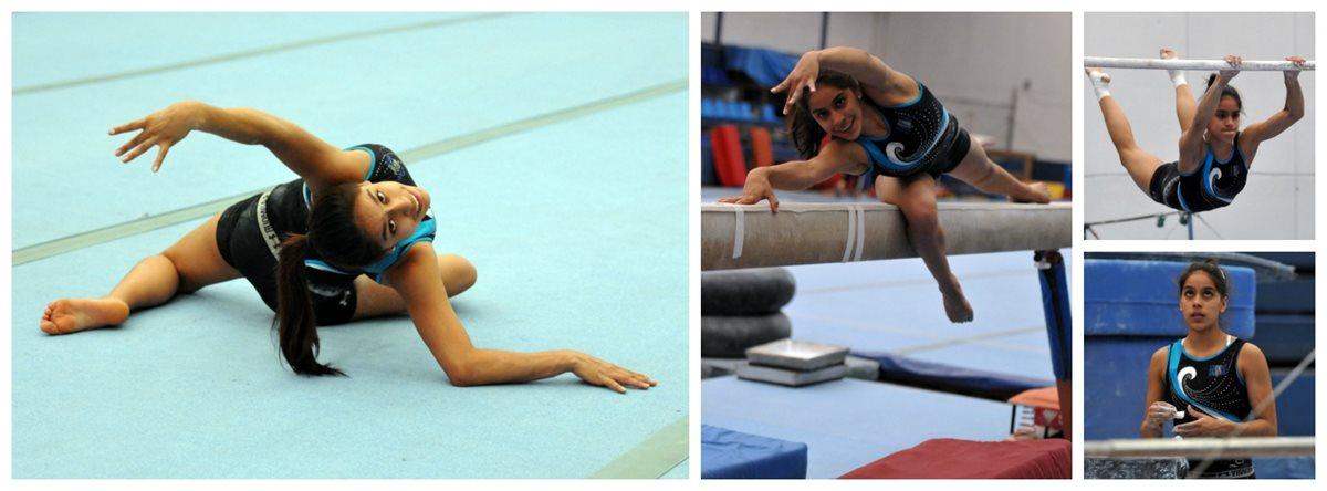Ana Sofía se prepara para los Juegos Olímpicos.