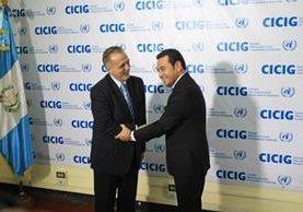 Departamento de Estado mostró su confianza en que Morales trabaje junto a la ciudadanía. (Foto Prensa Libre: E. García)