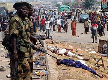 Hechos de violencia continúan en Nigeria.