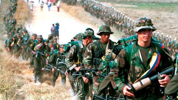 Las FARC fueron una de las guerrillas más temidas de América Latina. REUTERS