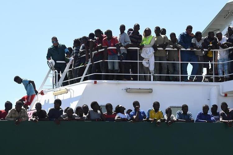 100.000 migrantes cruzaron el Mediterráneo este 2017 — VENEZUELA