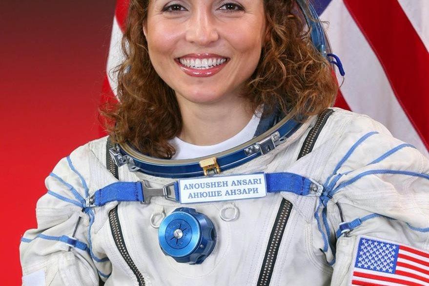 Anousheh Ansari representará a Fahradi en la gala de los Óscar. (Foto Prensa Libre: NASA).