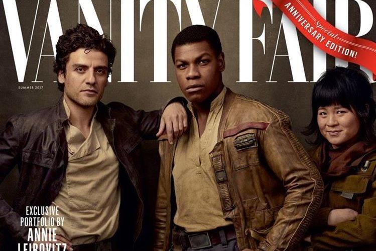 Reparto de The Last Jedi son presentados en revista