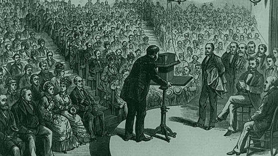 Alexander Graham Bell patentó su teléfono en 1876. (GETTY IMAGES).