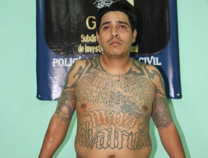 Lester Waldemar Aguilar Oajaca se fugó el año pasado de la cárcel El Boquerón en Santa Rosa. (Foto Prensa Libre: PNC)