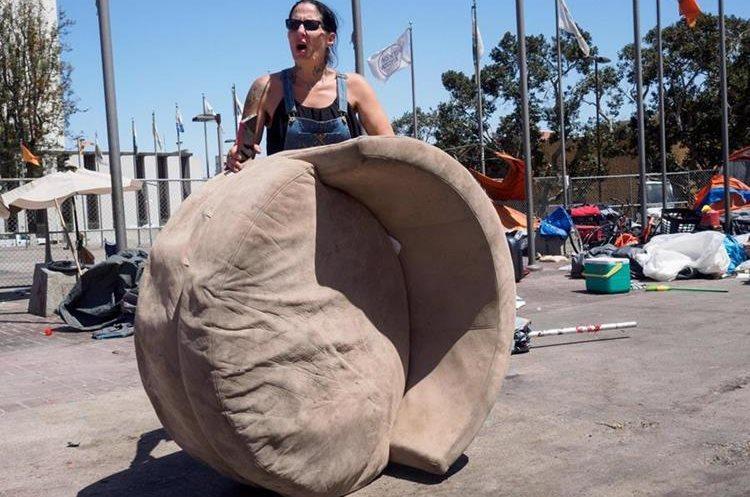 Crisis de personas sin hogar en Santa Ana, California, EE.UU. (EFE).